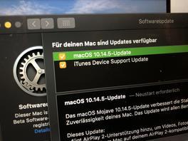macOS Mojave 10.14.5 veröffentlicht
