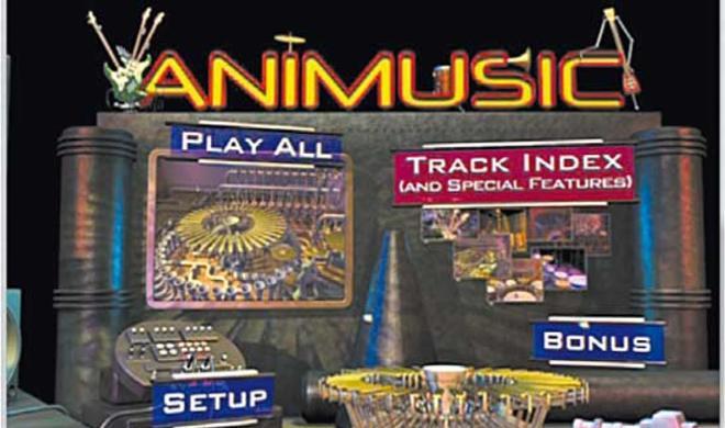 DVD Animusic SE