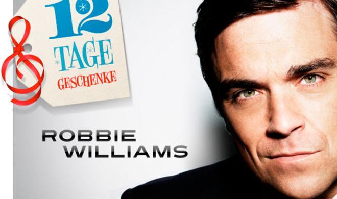 """""""12 Tage""""-Geschenk: Robbie-Williams-Video"""