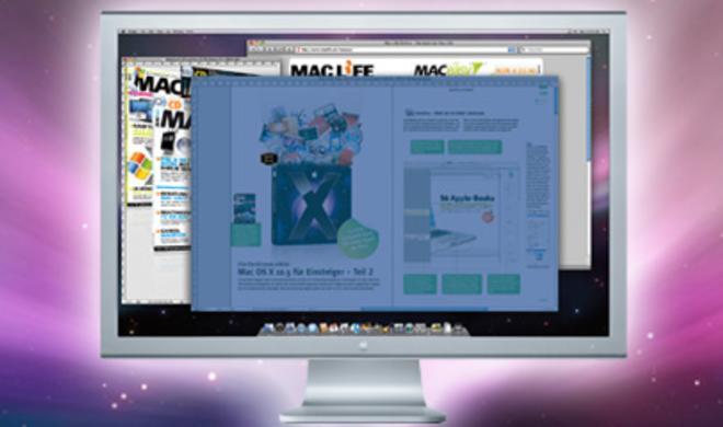 Bildschirmfotos (Screenshots)  unter Mac OS X