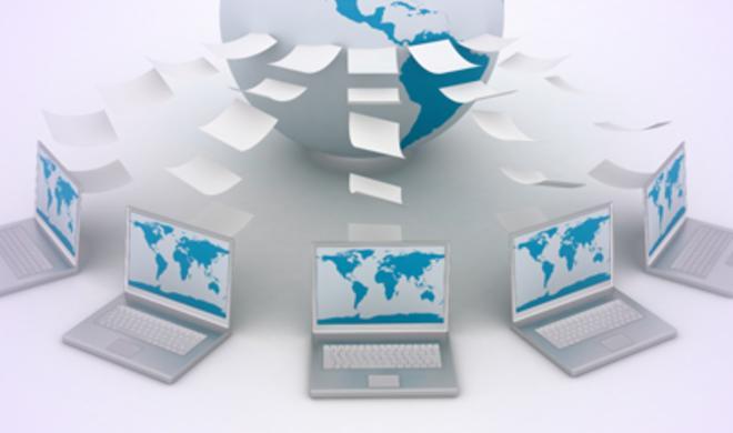 Datenaustausch per Internet