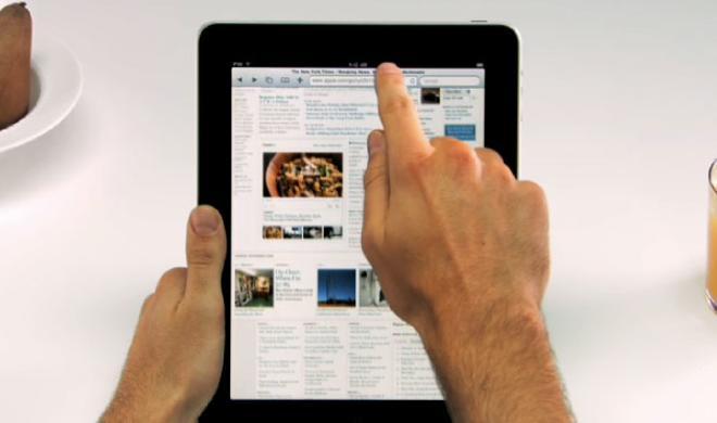 Apple erklärt das iPad