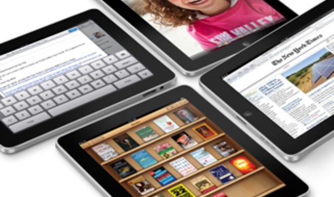 Dem iPad sei Dank: Apple weltweit auf Platz 3 beim PC-Absatz