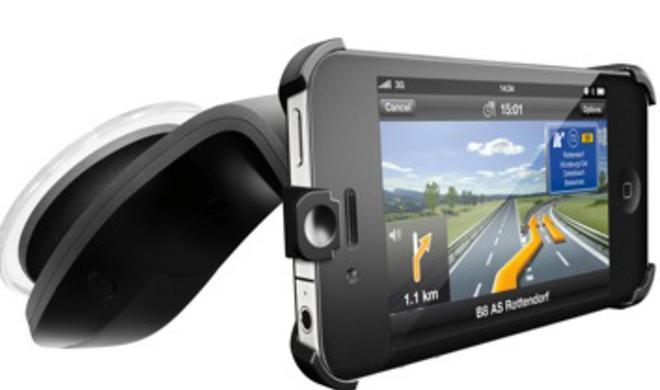 Navigon enthüllt neues iPhone Car Kit