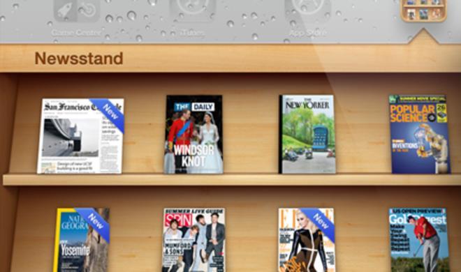 iPad-Zeitungskiosk generiert 70.000 US-Dollar Umsatz pro Tag