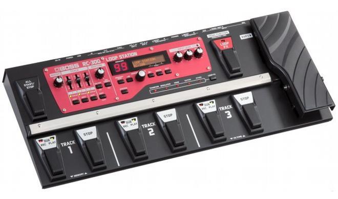 Boss kündigt den Mega-Looper RC-300 an