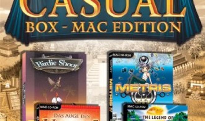 Test: Casual Box Mac Edition, Spielesammlung für den Mac