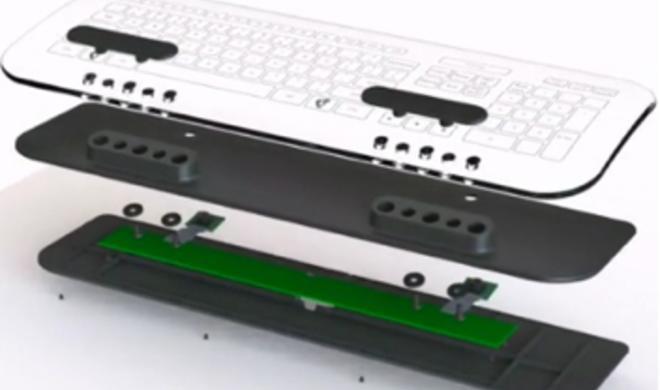 Kickstarter-Projekte: Multi-touch-Tastatur und Maus aus Glas & MacBook Air Dock