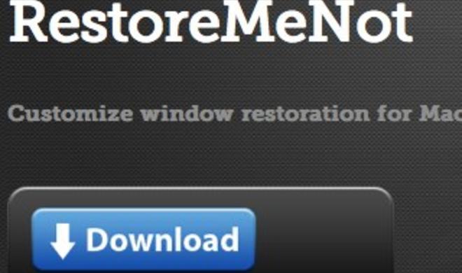 OS X Lion: Fensterwiederherstellung für einzelne Anwendungen mit RestoreMeNot konfigurieren