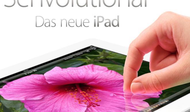 Retina Display für iPad 3. Generation stammt von Samsung