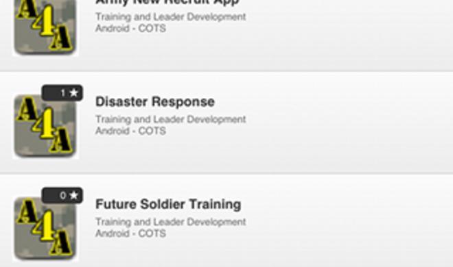 US-Armee eröffnet eigenen App-Store
