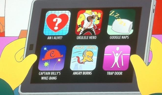 Netzfundstück: Diese Apps hat Mr. Burns auf seinem iPad