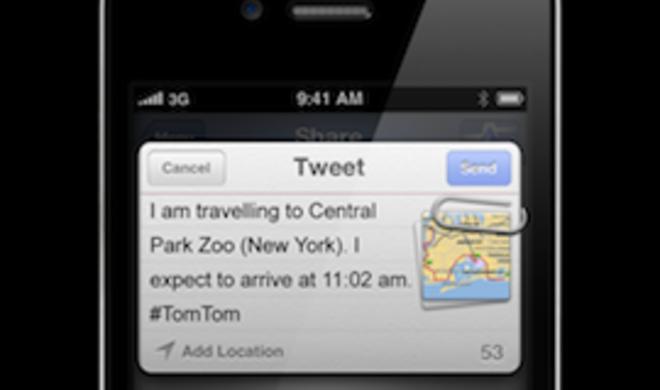 Twitter, Facebook & Places: Neue Version der TomTom-App für iPhone & iPad erhältlich