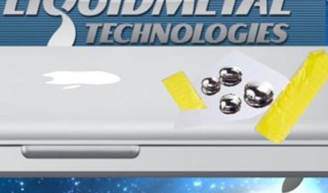 Gerücht: Neue MacBooks aus Liquidmetal?
