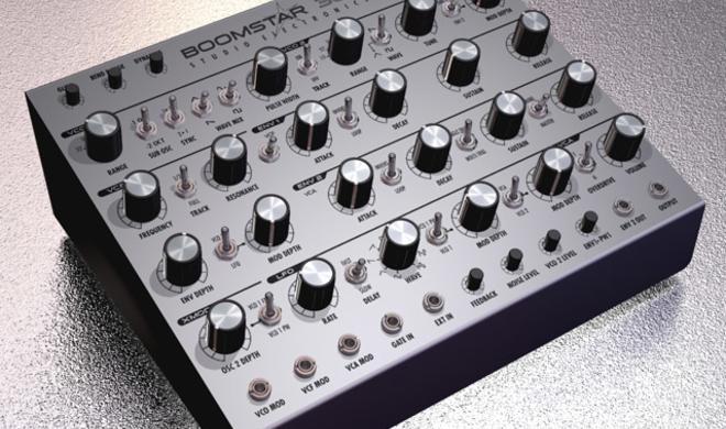 Studio Electronics Boomstar - analoger Desktop Synthesizer
