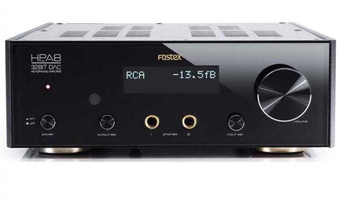 Fostex HP-A8C - Kopfhörerverstärker & D/A-Wandler