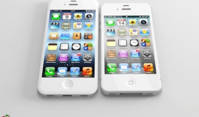 iPhone 5: So könnte das neue Apple-Smartphone mit 4-Zoll-Display aussehen