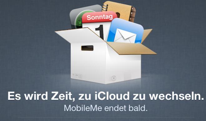 iCloud-Migration: MobileMe-E-Mail-Dienst weiterhin verwenden