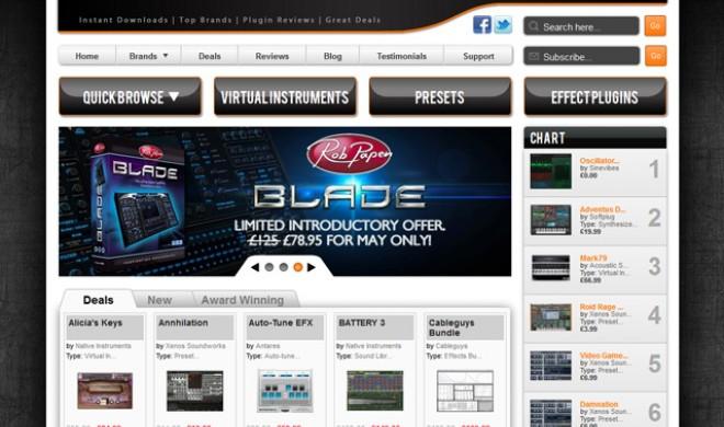 Neue Quelle für virtuelle Instrumente und Effekte