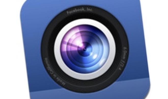 Trotz Instagram-Übernahme: Facebook veröffentlicht eigene Foto-App
