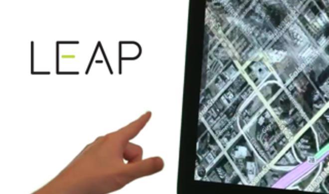 Flowboard: Mac-Anwendung kann mit Leap Motion gesteuert werden