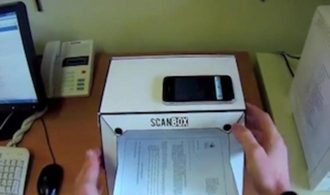 Scanbox: Kickstarter-Projekt soll iPhone zum Scanner machen