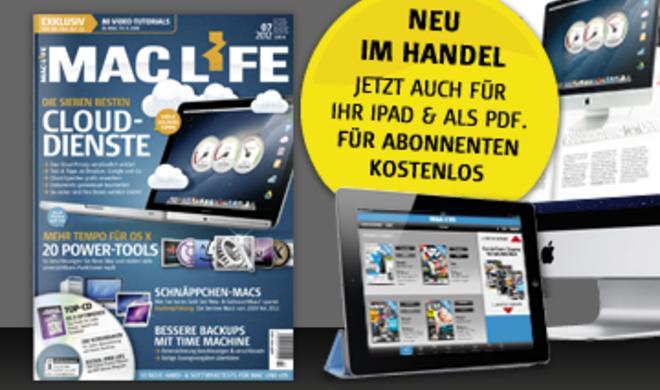 Mac Life 08.2012: Brandneue MacBooks u. v. m.