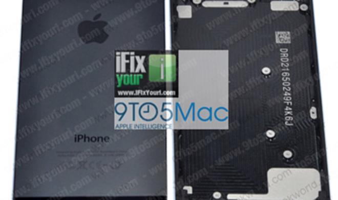iPhone 5: Foto zeigt angeblich die Rückseite des neuen Apple-Smartphones