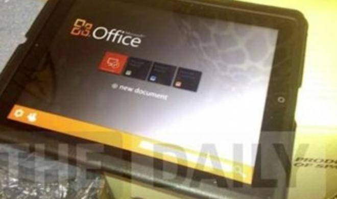 Microsoft Office für iPad: Veröffentlichung im App Store am 10. November?