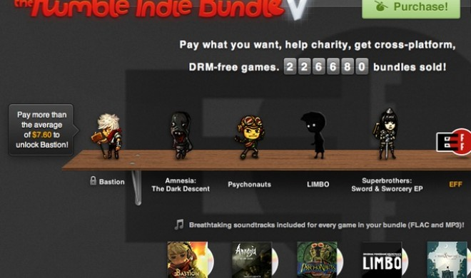 Humble Indie Bundle V: 5 Top-Spiele für den Mac zum Sparpreis