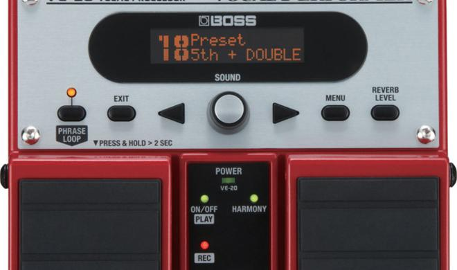 Boss VE-20 Vocal Performer mit Looper