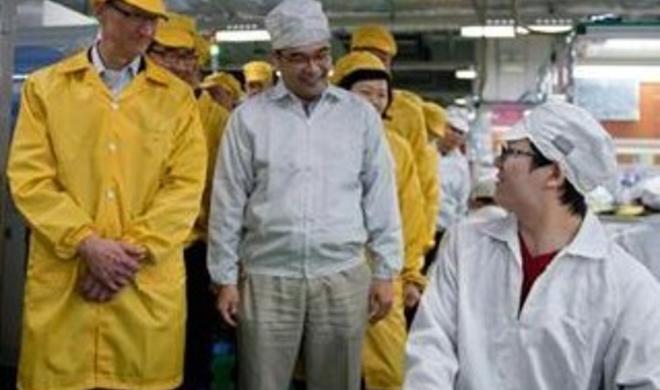 iPhone 5s: Foxconn produziert mit tausenden Arbeitern rund um die Uhr