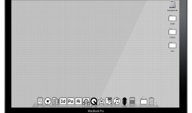 Retro-Mac: Die etwas anderen Wallpaper und Icons