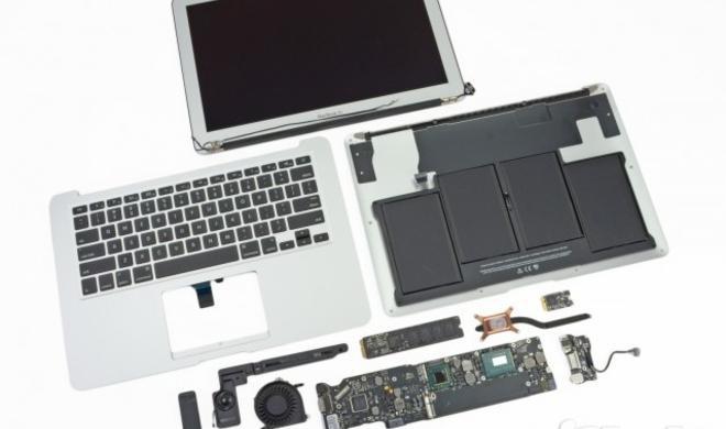 iFixit zerlegt neues MacBook Air, entdeckt neuen SSD-Anschluss