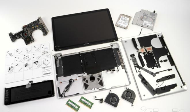 iFixit vergleicht neue MacBook-Pro-Modelle