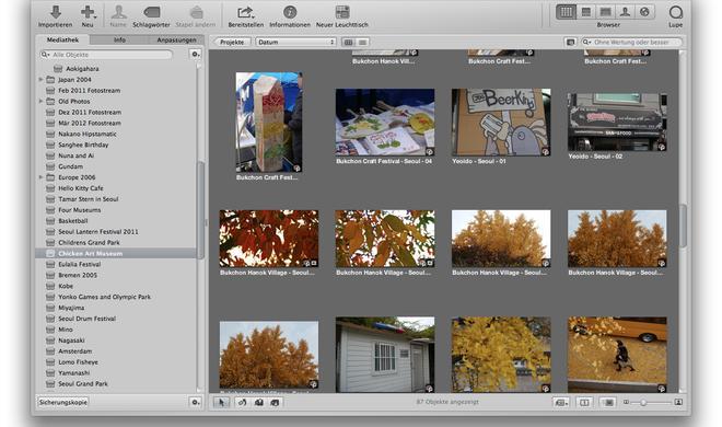 Adobe und Corel werben um Aperture-Anwender
