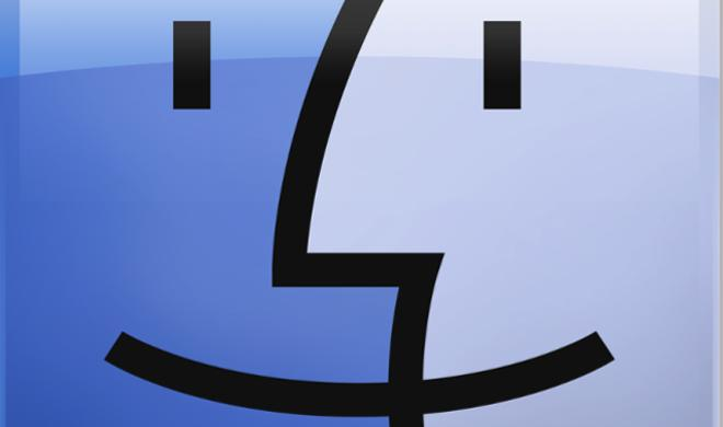 Wichtige Apps in der Finder-Symbolleiste verlinken