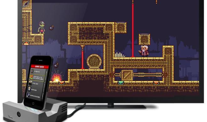 Kickstarter: GameDock will iOS-Hardware in stationäre Spielekonsole verwandeln