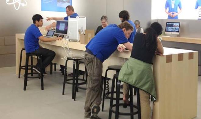 Die Apple Stores in Zahlen: 375 Stores, 300 Millionen Besucher und 50.000 Genius-Termine