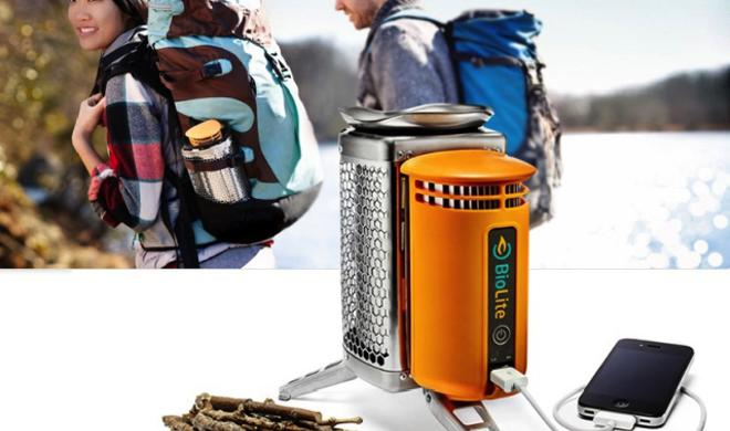 BioLite CampStove: Campingkocher lädt iPhone-Akku