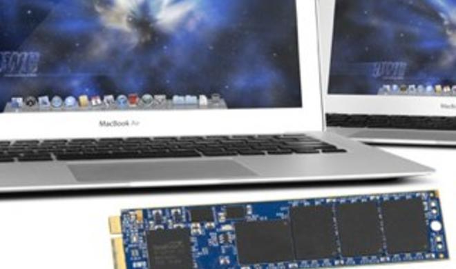 MacBook Air 2012: OWC bietet SSD-Erweiterungen an