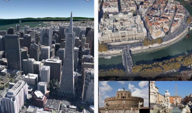 Google Earth 7 für iOS mit 3D-Karten erschienen