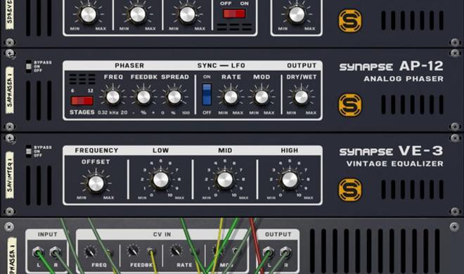 Mehr Rack Extensions - Neues von Synapse Audio