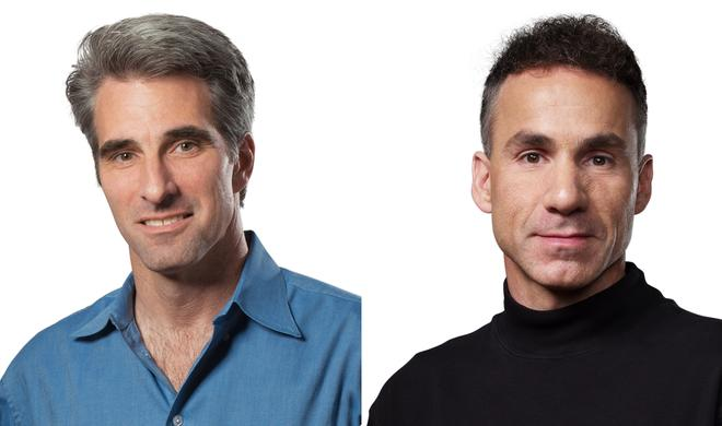 Apple befördert Craig Federighi und Dan Riccio, Bob Mansfield bleibt