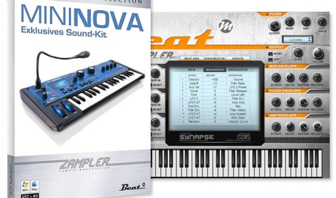 MiniNova Sound-Kit für Beat Zampler