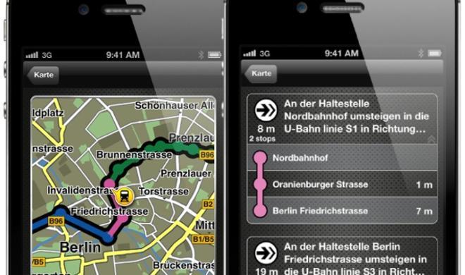 """IFA 2012: Navigon stellt """"Urban Guidance""""-In-App-Kauf für Navi-Apps vor"""