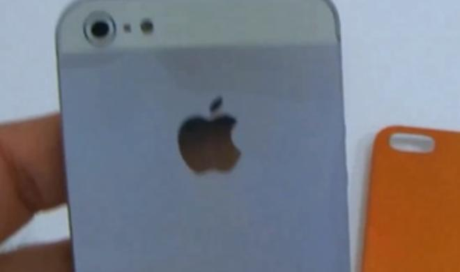 iPhone 5: Videoclip zeigt Mock-up in Aktion