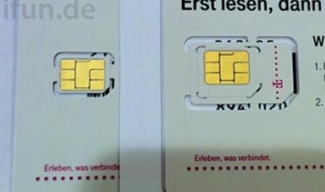 iPhone 5: Telekom verteilt vorab des Verkaufsstarts erste Nano-SIMs