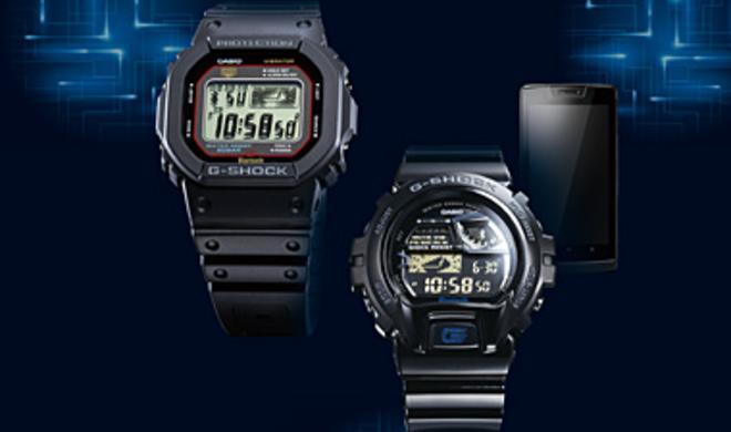 Casio kündigt G-Shock-Uhren mit iPhone-Unterstützung an
