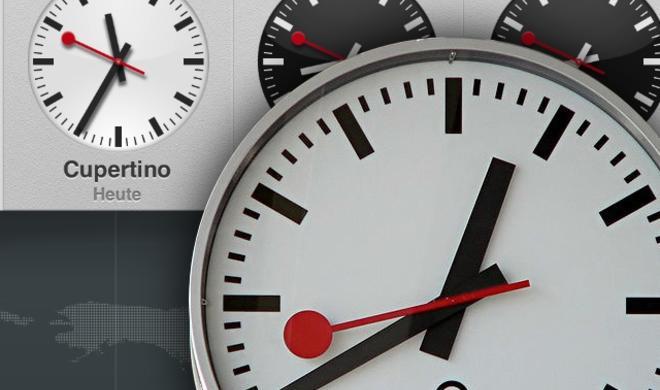 Schweizer Bahnhofsuhr auf dem iPad: SBB und Apple schließen Lizenzvereinbarung ab